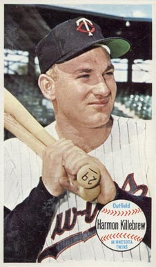 1964 Topps Giants Harmon Killebrew #38 Baseball Card