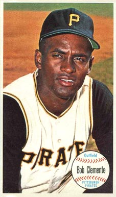 1964 Topps Giants Roberto Clemente #11 Baseball Card
