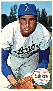 1964 Topps Giants Sandy Koufax #3 Baseball Card