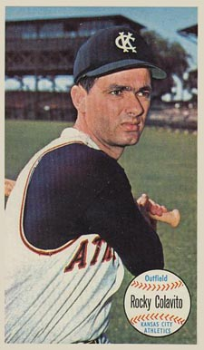 1964 Topps Giants Rocky Colavito #9 Baseball Card