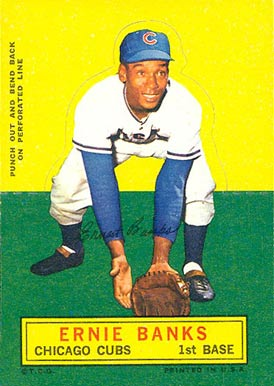 1964 Topps Stand-Up Ernie Banks #7 Baseball Card
