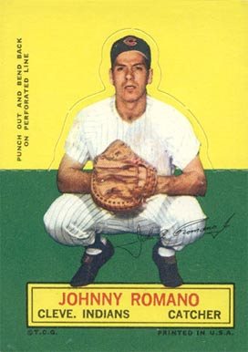 1964 Topps Stand-Up Johnny Romano #66 Baseball Card