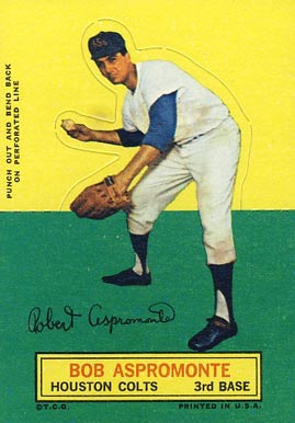 1964 Topps Stand-Up Bob Aspromonte #5 Baseball Card
