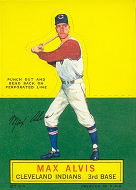 1964 Topps Stand-Up Max Alvis #4 Baseball Card