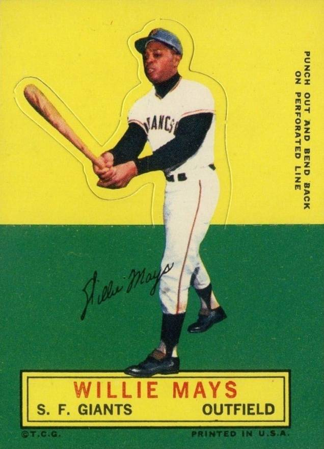 1964 Topps Stand-Up Willie Mays #48 Baseball Card