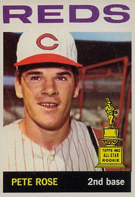 1964 Topps Pete Rose #125 Baseball Card
