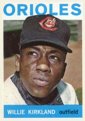 1964 Topps Willie Kirkland #17 Baseball Card
