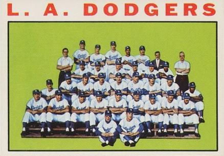 1964 Topps Los Angeles Dodgers Team #531 Baseball Card