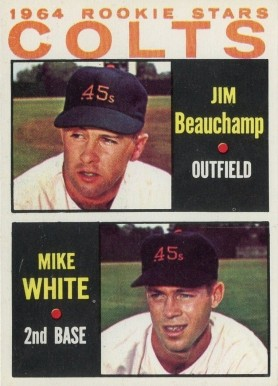 1964 Topps Jim Beauchamp #492 Baseball Card