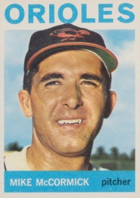 1964 Topps Mike McCormick #487 Baseball Card
