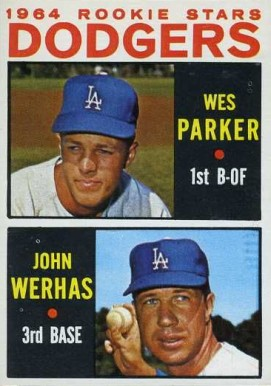 1964 Topps Dodgers Rookies #456 Baseball Card