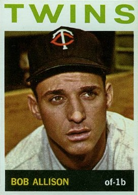 1964 Topps Bob Allison #290 Baseball Card