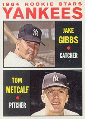 1964 Topps Jake Gibbs #281 Baseball Card