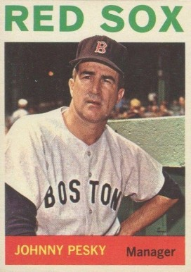 1964 Topps Johnny Pesky #248 Baseball Card