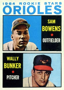 1964 Topps Sam Bowens #201 Baseball Card