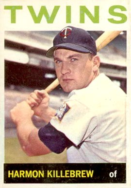 1964 Topps Harmon Killebrew #177 Baseball Card