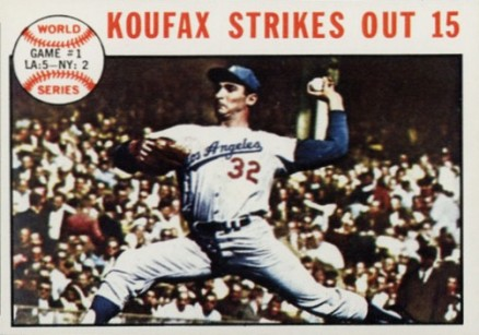 1964 Topps Sandy Koufax #136 Baseball Card