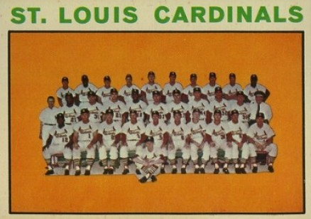 1964 Topps St. Louis Cardinals Team #87 Baseball Card