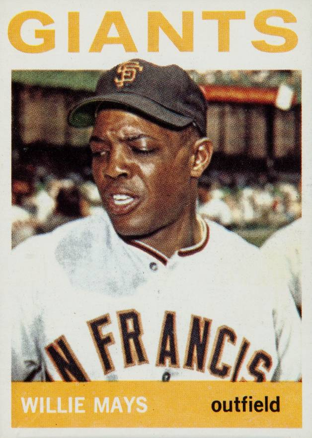 1964 Topps Willie Mays #150 Baseball Card