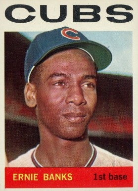 1964 Topps Ernie Banks #55 Baseball Card