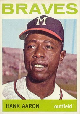 1964 Topps Hank Aaron #300 Baseball Card