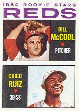 1964 Topps Bill McCool #356 Baseball Card