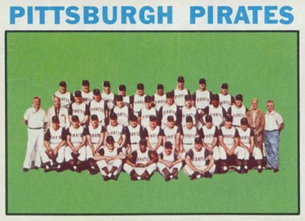 1964 Topps Pittsburgh Pirates Team #373 Baseball Card