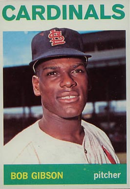 1964 topps bob gibson 460 baseball card value price guide. Black Bedroom Furniture Sets. Home Design Ideas
