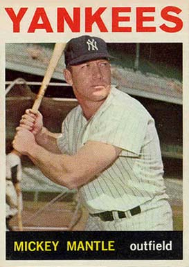 1964 Topps Mickey Mantle #50 Baseball Card