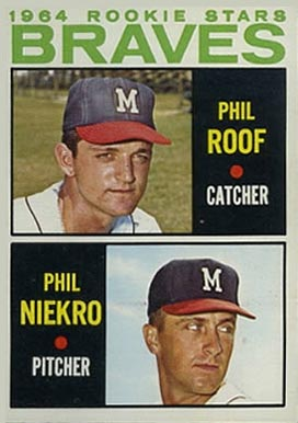 1964 Topps Phil Niekro #541 Baseball Card