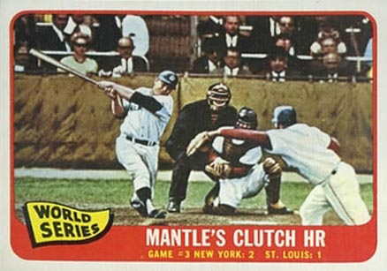1965 Topps Mickey Mantle #134 Baseball Card