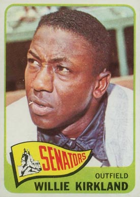 1965 Topps Willie Kirkland #148 Baseball Card