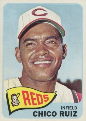 1965 Topps Chico Ruiz #554 Baseball Card