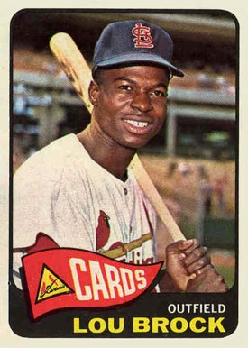 1965 Topps Lou Brock #540 Baseball Card
