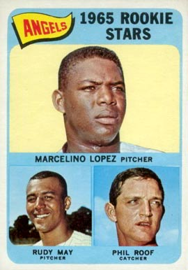 1965 Topps Angels Rookies #537 Baseball Card