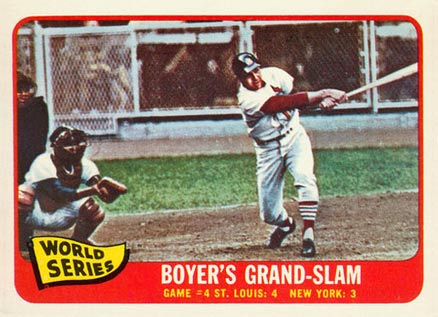 1965 Topps Ken Boyer #135 Baseball Card
