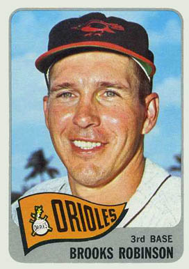 1965 Topps Brooks Robinson #150 Baseball Card