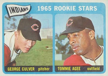1965 Topps Tommie Agee #166 Baseball Card