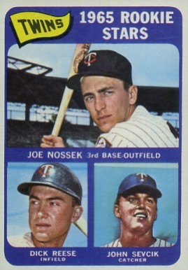 1965 Topps Twins Rookies #597 Baseball Card