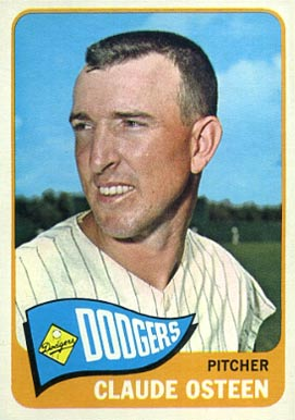 1965 Topps Claude Osteen #570 Baseball Card