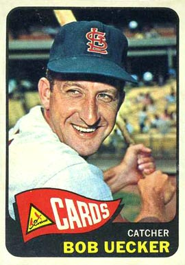 1965 Topps Bob Uecker #519 Baseball Card
