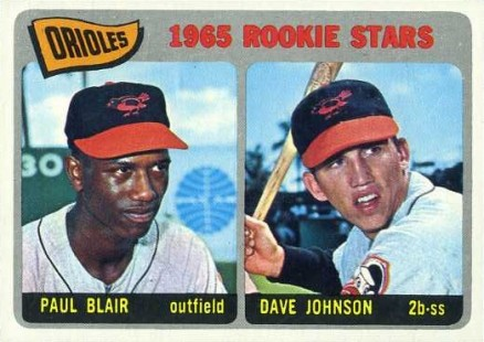 1965 Topps Orioles Rookies #473 Baseball Card