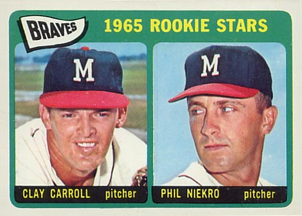 Clay Carroll and Phil Niekro