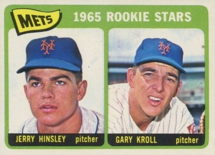 1965 Topps Jerry Hinsley #449 Baseball Card
