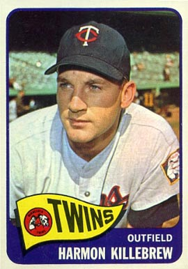 1965 Topps Harmon Killebrew #400 Baseball Card