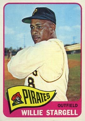 1965 Topps Willie Stargell #377 Baseball Card