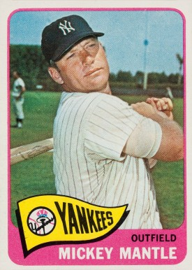 1965 Topps Mickey Mantle #350 Baseball Card