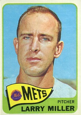1965 Topps Larry Miller #349 Baseball Card