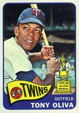 1965 Topps Tony Oliva #340 Baseball Card