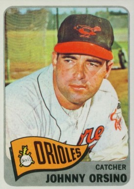 1965 Topps Johnny Orsino #303 Baseball Card